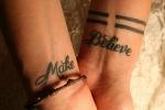 wrist tattoo design